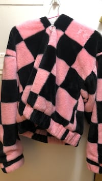 black and pink striped sweater New Westminster, V3L 1G2