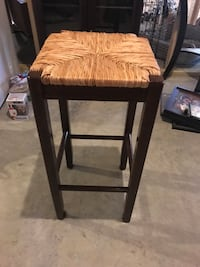 Wicker Top Stools-set of 5 Westminster, 21158