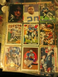 Barry Sanders cards Kansas City, 64125