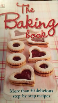 red and white The Baking Book