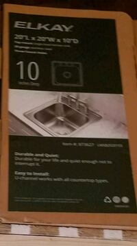 New never used sink Bluefield, 24605
