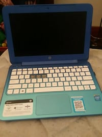 Hp stream laptop with charger and wireless mouse Hanna City, 61536