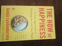 The how of Happiness Sonja Lyubomirsky  Vaughan, L4J 2Z4