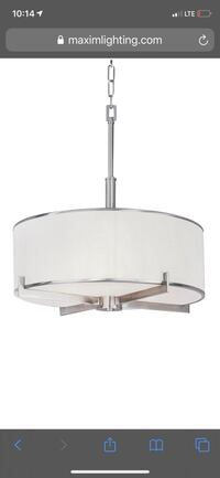 Nexus 4-Light Pendant Indoor Ceiling Light Model: 12053WTSN  Toronto, M6M 2R6