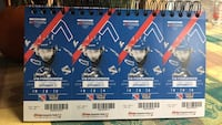 4 tickets to home opener plus parking pass. Sept 21 Kitchener, N2A 3K6