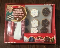 GREAT GIFT! Brand New in Box Melissa & Doug Wooden Cookie Set 564 km