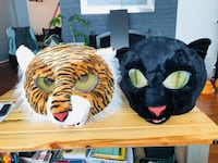 Tiger and Panther Big Masks Springfield, 22152