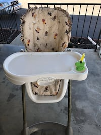 High Chair and Baby Bath