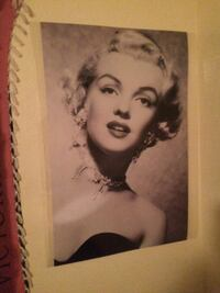 Laminated Marilyn Monroe Poster Cathedral City, 92234