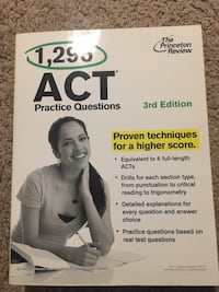 ACT practice questions