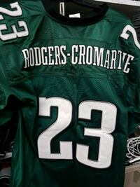 green and white and black and white NFL jersey Edmonton, T5P 3Y3