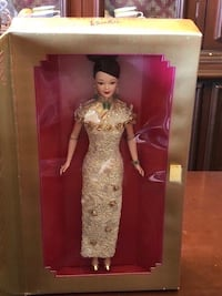 1998 GOLDEN QI-PAO Barbie Toronto, M1P 4S5