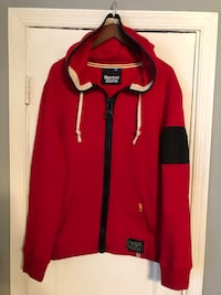 Men's Standard & Grind red hoodie size XL New never worn excellent condition Washington, 20002