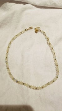gold-colored chain necklace 41 km