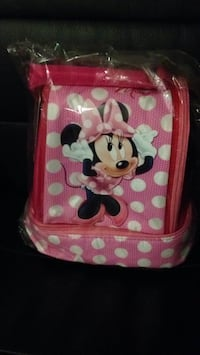 Minnie Mouse lunch box NEW - 2 avail