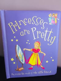 Gently used princess hardcover book  Calgary, T3K 6J7