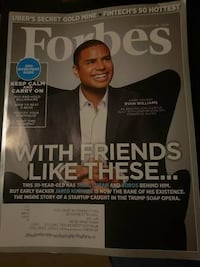 Forbes 4 magazine issues
