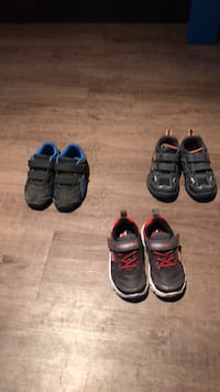 toddler's three pairs of shoes North Middlesex, N0M