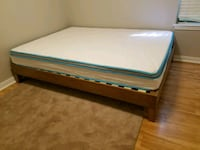Queen sized bed and frame Austin, 78751