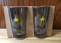 New Rae Dunn 18 FL OZ Set of Two Highball Glasses Palos Hills, 60465