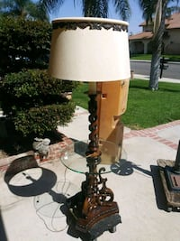 white and brown table lamp Ontario, 91761