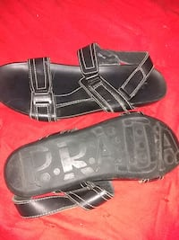New mens leather Prada sandals Edmonton, T6C 3C3
