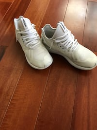 Pair of white Addias shoes Toronto, M5P 2Y5