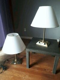Hotel Grade side table lamps