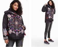 Winter Jacket- Desigual! Limited edition 2018. Sold out in Europe and US. Stunning one of a kind Vaughan, L4J 7S6