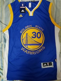 Curry Jersey NEW with Tags GS L