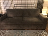 Grey pull out sofa