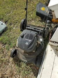 black Lawn mower