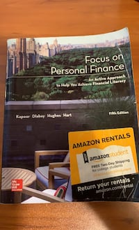 Focus on Personal Finance Textbook