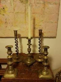 Antique or Modern Brass Candlesticks  Washington, 20007