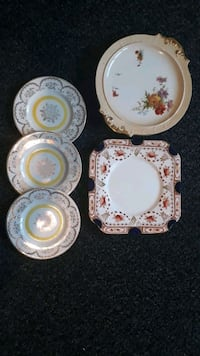 white-and-pink floral ceramic dinnerware set Kensington, SW7