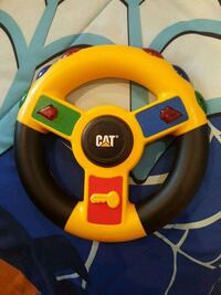 yellow and black Snopy steering wheel controller