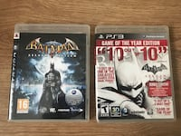 Batman arkham Asylum + Arkham City PS3