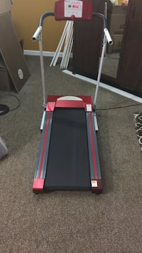 Black and red exercise equipment Lorton, 22079
