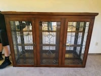 Two piece China cabinet 1463 mi