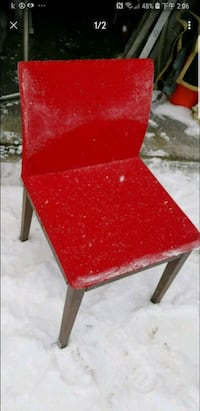 TRENDY STYLE Red READING OR MAKEUP chair Calgary, T2A 5R5