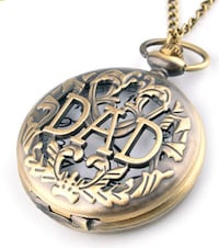 Antique style DAD pocket watch  Des Plaines, 60016