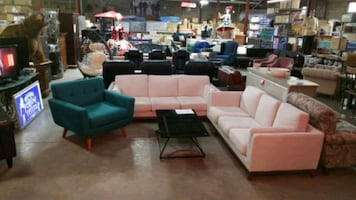 Article fabric sofas 799 each