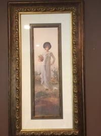 Large Framed Prints of Victorian Women