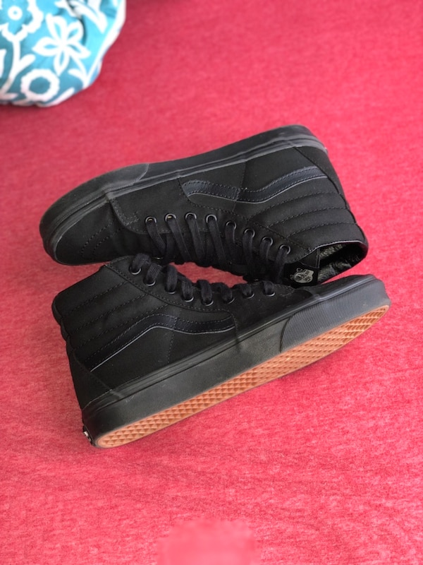 speciale verkoop specifiek aanbod couponcodes All Black High Top Vans