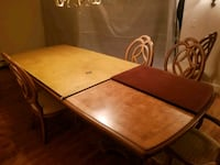 Real big and like new real  wood table  College Park, 20740