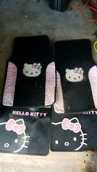 Hello kitty car floor mats York, 17402