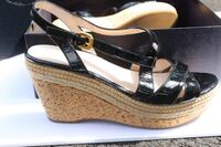 Prada Patent Leather Wedge Heels With buckles Springfield, 22152