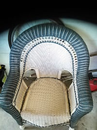 Single ratten wicker chair Tampa, 33612
