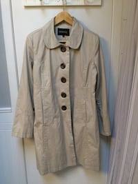 Cotton Button-Down Coat