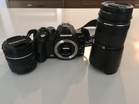 Olympus E510 10MP DSLR camera with 14-42mm and 40-150mm Lens Burnaby, V5H 0G2